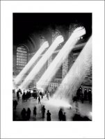 Nowy Jork grand central station - plakat premium