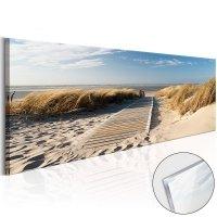 Obraz na szkle akrylowym - Dzika plaża [Glass]