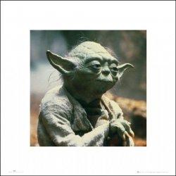 Gwiezdne Wojny Star Wars yoda - plakat premium