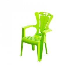 Krzesło dziec.antypoś.zielony