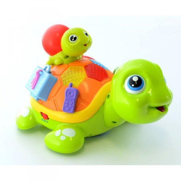 Zabawka rodzina żółwia
