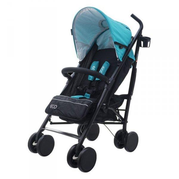 Wózek eco swiss design 300d blue