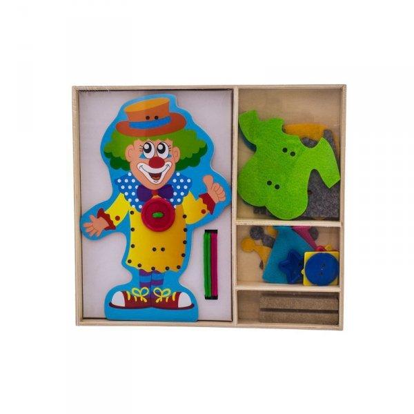 Zab klaun sznurowanka 16h1068