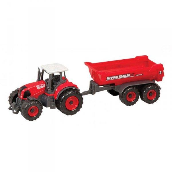 Farma - traktor metal z przycz