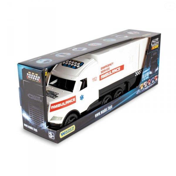 Magic truck emergency ambulans