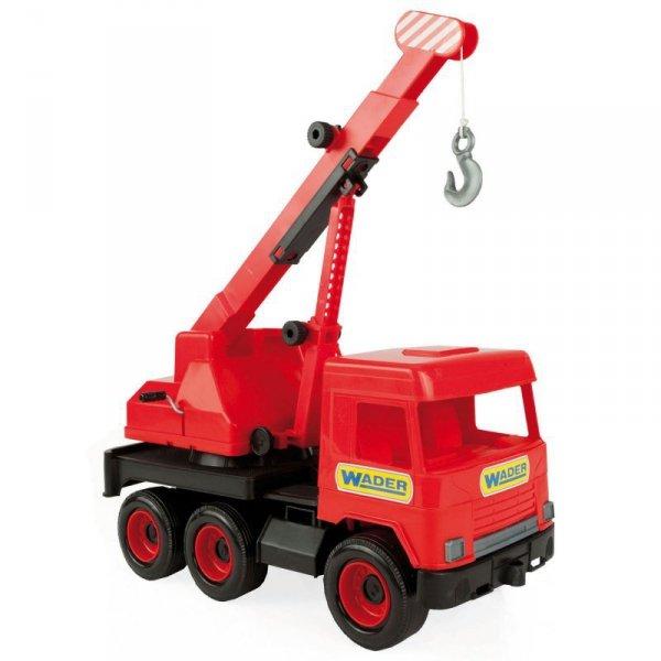 Middle truck dźwig czerwony