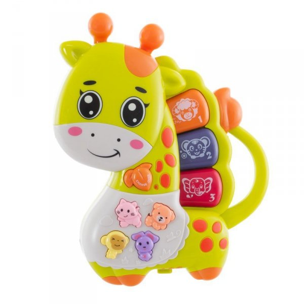 Zabawka pianinko żyrafa