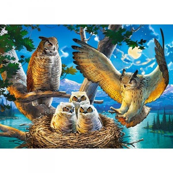 Puzzle 180 el. owl family