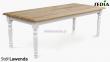 Stół z litego drewna - Lawenda