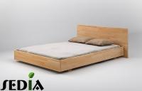 Łóżko drewniane - Beryl