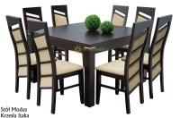 Stół Modus 1 + 8 krzeseł Itaka