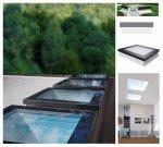 Fakro Okno do płaskiego dachu DXF DU6 SECURE antywłamaniowe,U=0,70 W/m²K, nieotwierane