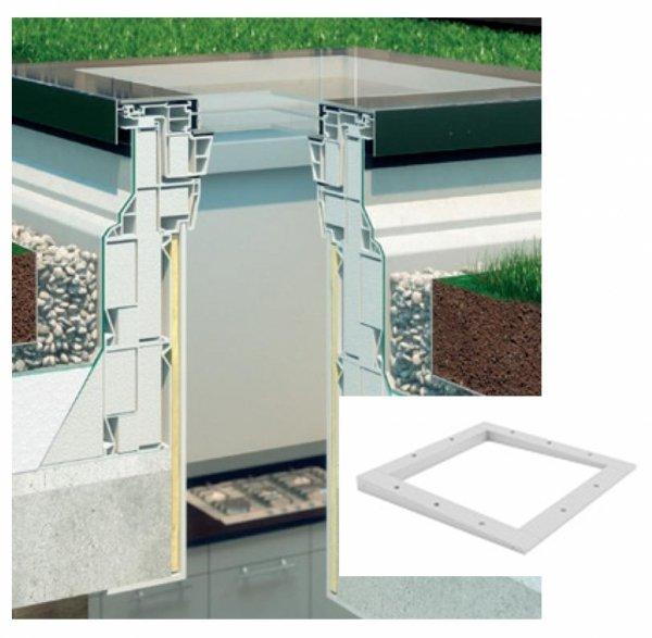 Fakro Rama montażowa XRD/A do okna do płaskiego dachu, okna typu F, G