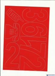 CYFRY samop.10cm (8) czarne ARTDRUK