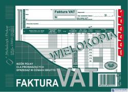 140-3N/E Faktura VAT A5brut. wielokopia MICHALCZYK I PROKOP