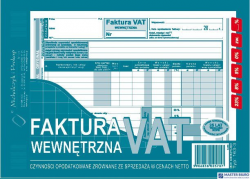 163-3N/E Faktura VAT A5-wewnet MICHALCZYK I PROKOP