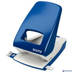 Dziurkacz 5138 LEITZ niebieski 40 kartek duży metalowy 51380035