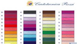 Bibuła karbowana, włoska gruba 180g różowa 570 Cartotecnica Rossi