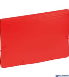 Aktówka EAGLE z 12 przegródkami czerwona 9112C 120-1157