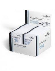 Chusteczki do czyszczenia okularów DURABLE (585302) 100szt (50x2szt)