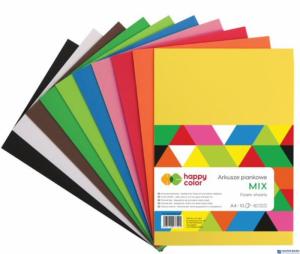 Arkusze piankowe mix A4, 10ark. 10kol. HA 7230 2030-MIX