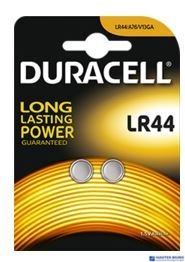 Bateria alkaliczna LR44 B2(2szt.) DURACELL 4570114