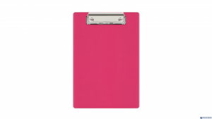 Deska klip A5 pink KKL-00-03 BIURFOL