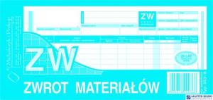 353-8 ZW Zwrot materiałów (wielokopia)MICHALCZYK I PROKOP