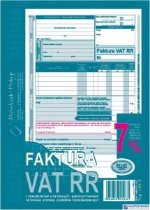 185-3 Faktura VAT RR MICHALCZYK&PROKOP A5 80 kartek