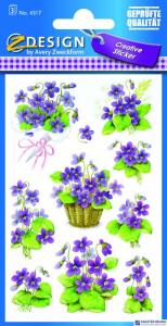 Naklejki ZF Kwiaty        4317 Z-DESIGN CREATIVE