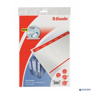 Etykiety do segregatorów 36x192mm(10x6) białe samop. ESSELTE 20823