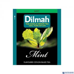 Herbata DILMAH PURE CEYLON MINT TEA czarna (25 saszetek) 2g