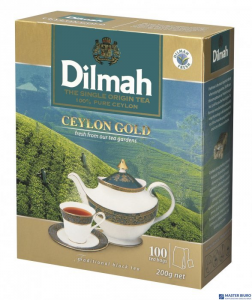 Herbata DILMAH GOLD 100szt x2g saszetki