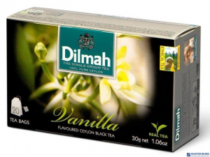 Herbata DILMAH AROMAT WANILII (20 saszetek) 85045 czarna