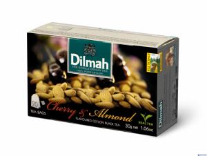 Herbata DILMAH AROMAT WIŚNIA&MIGDAŁ (20 saszetek)
