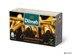 Herbata DILMAH AROMAT CYNAMON 20t*1,5g czarna