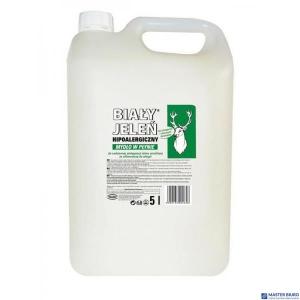 BIAŁY JELEŃ Mydło w płynie hipoalergiczne 5l