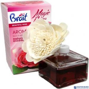 Odświeżacz BRAIT kwiat we flakonie 75ml BEAUTIFUL ROSE *12193