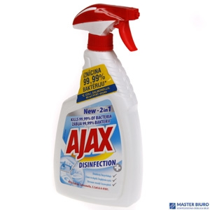 AJAX Płyn 750ml.NEW 2in1 zabija 99.9%bakterii