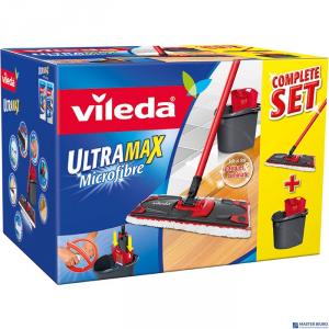 Zestaw w kartonie VILEDA ULTRAMAX mop płaski + wiadro 11508