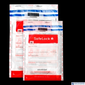 Koperty bezpieczne B4 przezroczyste 50szt. EMERSON ikb250385ptk