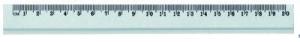 Linijka aluminium 20cm GR119-20 130-1504