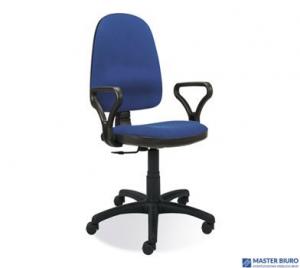 Fotel obrotowy BRAVO Profil GTP z mechanizmem CPT CU-6 niebieski