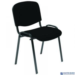 Krzesło konferencyjne ISO black CU-14 nie/cza niebiesko-czarne