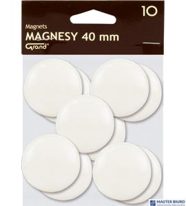 Magnesy 40mm GRAND białe   (10) 130-1699