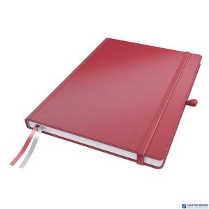Notatnik LEITZ Complete A4 80k czerwony w kratkę 44710025