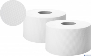 Papier toaletowy biały 100m 2 warstwy celuloza JUMBO ELLIS COMFORT 6255