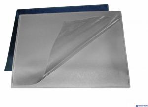 Podkładka na biurko z folią BANTEX 49x65 PVC szara 100551499