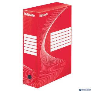 Pudełka archiwizacyjne ESSELTE BOXY 100mm czerwone 128422