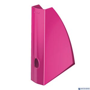 Pojemnik na dokumenty LEITZ WOW różowy metalik 52771023